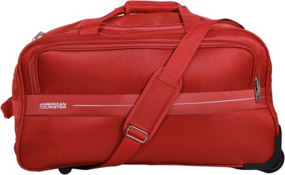 American Tourister Marco Duffle on Wheel 54 cm (Rust) Travel Duffel Bag(Red)