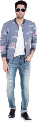 Jack & Jones Full Sleeve Floral Print Men Jacket at flipkart