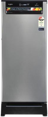 Whirlpool 200 L Direct Cool Single Door 3 Star Refrigerator(Magnum Steel, 215 IMPWCool Roy 3S) 1