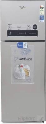 Whirlpool 340 L Frost Free Double Door 2 Star Refrigerator(Alpha Steel, IF 355 ELT ALPHA STEEL(2S))
