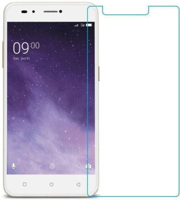 FashionCraft Tempered Glass Guard for Lava Z90(Pack of 1)