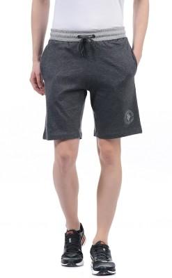 U.S. Polo Assn Solid Men Grey Bermuda Shorts