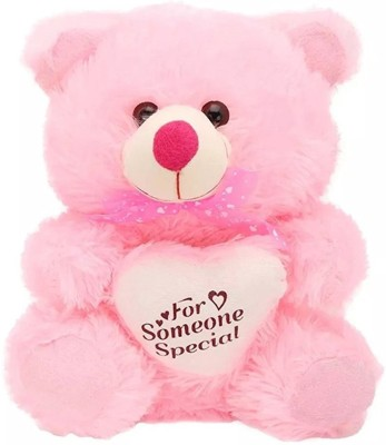Yakeen Teddy Bear Pink   30 cm Pink Yakeen Soft Toys
