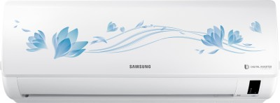 View Samsung 2 Ton 3 Star BEE Rating 2018 Split AC  - White(AR24NV3HETU, Alloy Condenser)  Price Online