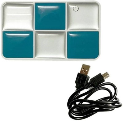 Gadget Deals USB 2.0 All In One (Supports CF Cards, Micro MS Cards, TF Cards/Micro SD, Mini SD, SD, MMC Cards) (Color may vary) Card Reader(Multicolor)
