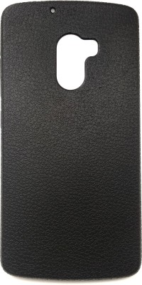 VAKIBO Back Cover for Vivo V11 Pro(Black Leather Texture Soft Silcon Ultra Thin Slim - All Sides Covered -Flexible, Grip Case)