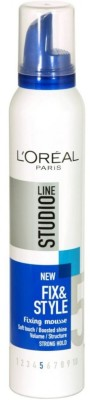 L'Oreal Paris Studio Line new Fix & Style Fixing Mousse 5 Mousse(200 ml)