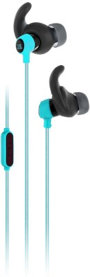 JBL Reflect Mini Wired Headset with Mic(Teal, Wired in the ear)