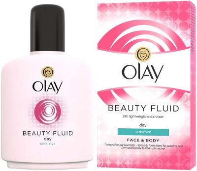 Olay Beauty Fluid Sensitive Day Moisturiser (100ml)(100 ml)