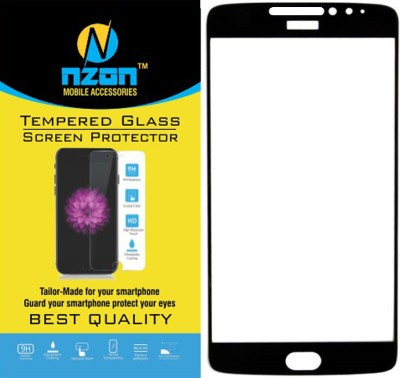 nzon Tempered Glass Guard for Motorola Moto E4 Plus(Pack of 1)