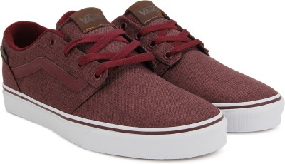 a3f54ffdb166 35% OFF on Vans Chapman Stripe Sneakers For Men(Maroon) on Flipkart ...