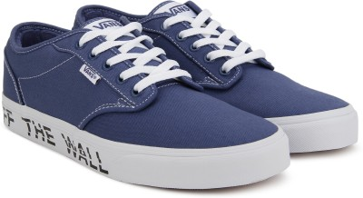 8a74495587b9 48% OFF on Vans Atwood Sneakers For Men(Blue) on Flipkart ...