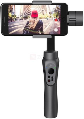MBOX Handheld stabalizers Zhiyun Smooth-Q 3-Axis Handheld Gimbal Stabilizer for Smartphone Like iPhone X 8 7 Plus 6 Plus Samsung Galaxy S8+ Sports and Action Camera(Black 0 MP) 1