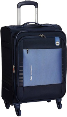 VIP Orbit 4W Exp Strolly Expandable  Cabin Luggage - 22 inch(Blue)
