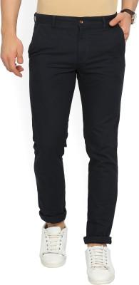 Jack & Jones Regular Fit Men Blue Trousers