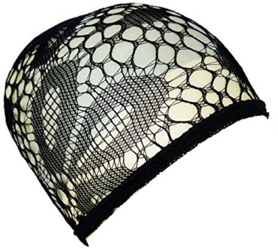 AASA Hair Wig, Net Mesh Fishnet Elastic Snood Cap | Wig Cap For Women In Black Colour, multi design Hair Accessory Set(Black)  available at flipkart for Rs.199