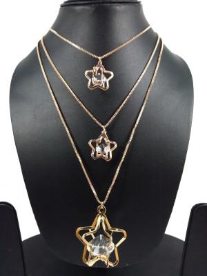 Star India Alloy Jewel Set(Gold, Green)