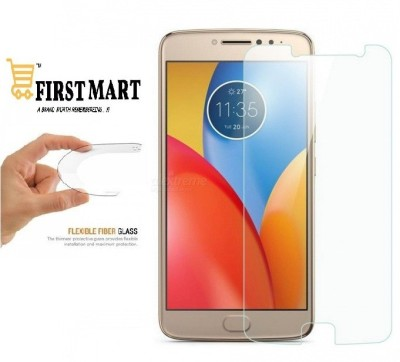FIRST MART Tempered Glass Guard for Motorola Moto E4 Plus(Pack of 1)