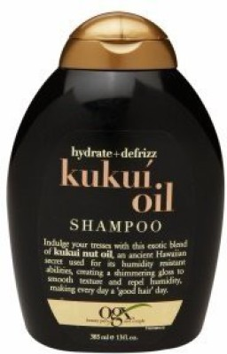 Organix Ogx Shampoo Kukui Oil Hydrate & Defrizz(384 ml)