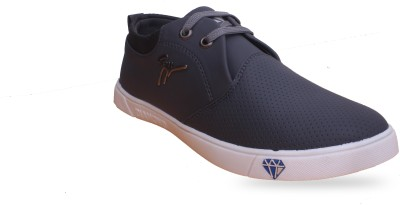 7e3f9da7229f13 61% OFF on Footfit Canvas shoes Sneakers For Men(Grey) on Flipkart ...