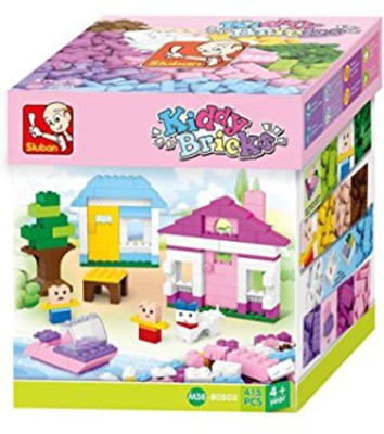 Sluban Kiddy bricks 415 PCS Multicolor Sluban Blocks   Building Sets