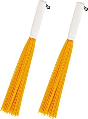 Vimal TinTin 20 Brooms Combo Set Plastic Wet and Dry Broom(Multicolor, Pack of 2) Flipkart