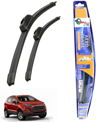 myTVS Windshield Wiper For Ford Ecosport(Passenger And Driver Side Wipers Pack of  2)