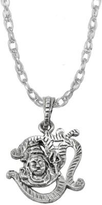 Sullery Om Shiv Shankar Namah Shivay God Locket With Brass Chain Zinc, Alloy, Brass Pendant Set