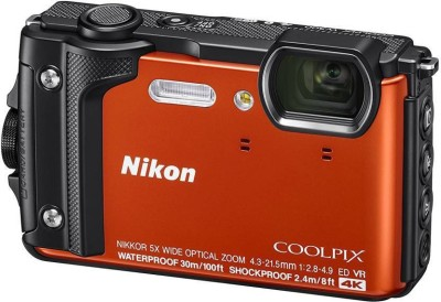 Nikon Coolpix W300 Point and Shoot Camera(16.05 MP, 5x Optical Zoom, 5X Digital Zoom, Orange)  available at flipkart for Rs.29950