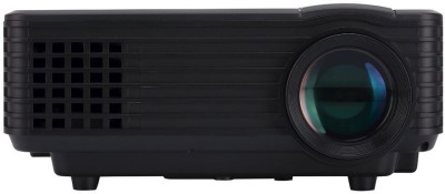 PLAY LED Digital 2000Lumens Android 4.4 WIFI LED MINI Projector 3D Beamer Video Home Cinema Theatre 3.0 USB HDMI 2000 lm LED Corded Mobiles Portable Projector(Black) at flipkart