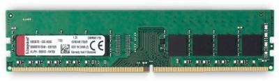 Kingston RAM DDR4 8 GB PC 288-Pin DDR4 SDRAM (2400MHz Non-ECC CL17 DIMM 1Rx8 Desktop Memory - KVR24N17S8 8) at flipkart