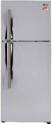 LG 260 L Frost Free Double Door 4 Star Refrigerator(Shiny Steel, GL-I292RPZL)  available at flipkart for Rs.24999