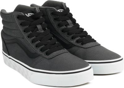 9dafa79c0c7 30% OFF on Vans Ward Hi Sneakers For Men(Grey) on Flipkart ...