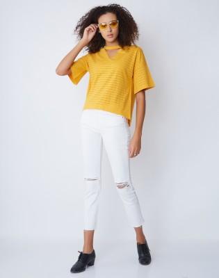 Manola Casual Short Sleeve Striped Women