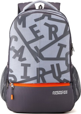 American Tourister Fizz Sch Bag 32.5 L Backpack(Grey)
