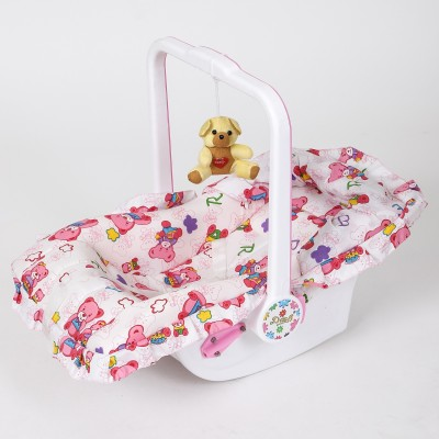Dash Multipurpose (7 in 1) Pink baby carry cot with mosquito net and Sun shade(Pink)  available at flipkart for Rs.1570