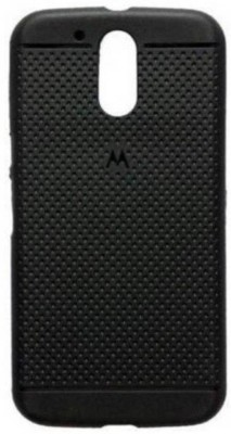 Bizone Back Cover for Motorola Moto E3 Power(Black)