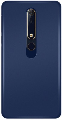 Colorcase Back Cover for Nokia 6 Blue