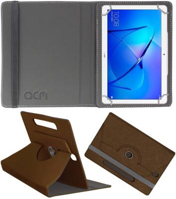 ACM Book Cover for Honor MediaPad T3 10 9.6 inch(Brown, Cases with Holder)