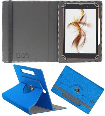 ACM Book Cover for iBall Slide Nimble 8 inch(Blue, Cases with Holder)