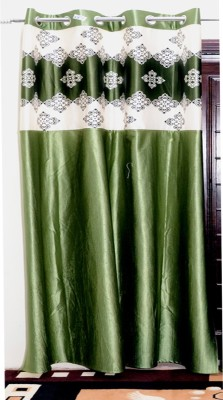a0e28c3d7444 G S COLLECTIONS Polyester Window Curtain 152 cm (5 ft) Single Curtain (Printed