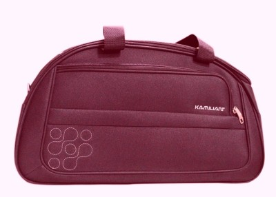 Kamiliant Duffle on Wheel 60 cm (Maroon) Travel Duffel Bag(Maroon) at flipkart