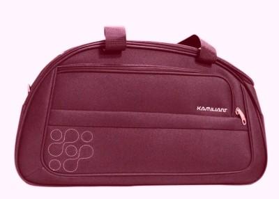 Kamiliant Duffle on Wheel 60 cm (Maroon) Travel Duffel Bag(Maroon) at flipkart