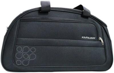 Kamiliant Duffle on Wheel 60 cm (Black) Travel Duffel Bag(Black) at flipkart