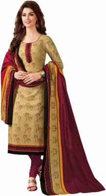 Saara Self Design Fashion Poly Silk Saree(Red)