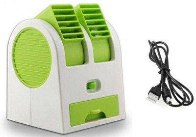 Blue Birds Air Conditioning Mini Cooler/mini Fan/ceiling/exhaust/usb Portable Fan For Kitchen/home/indoor/outdoor/office For Fresh Air and Fragrances Table Fan(Multicolor)  available at flipkart for Rs.339