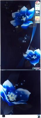 Haier 256 L Frost Free Double Door Bottom Mount 3 Star Refrigerator(Marine, HRB-2763CMM-E)