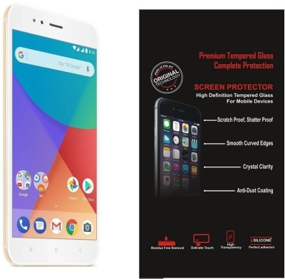 Fleejost Tempered Glass Guard for Impossible Glass For MI A1, Ultra-Thin Unbreakable Protection, Shatterproof & Perfect Optical Clarity