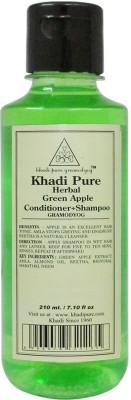 Khadi Herbal Green Apple Shampoo + Conditioner 210ml