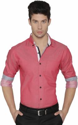 Dazzio Men Solid Formal Button Down Shirt